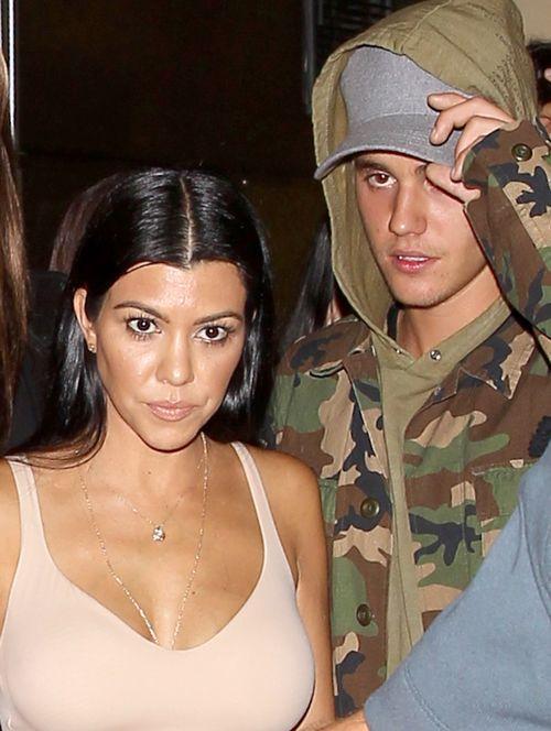 Justin Bieber und Kourtney Kardashian waren zusammen aus