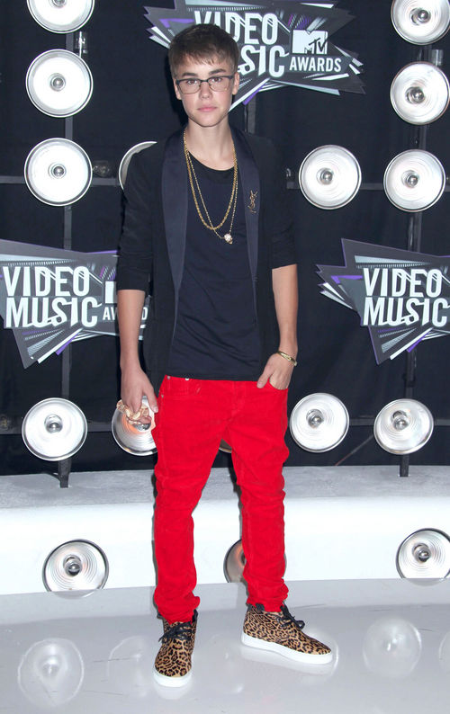Justin Bieber stylte sich für die VMAs besonders individuell