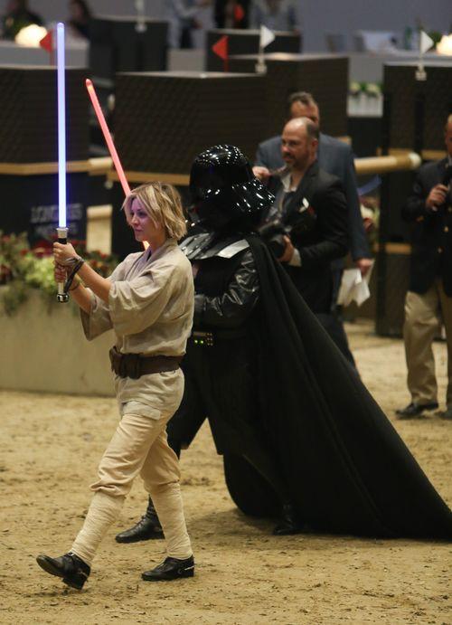"""Kaley Cuoco überraschte als """"Star Wars""""-Heldin"""