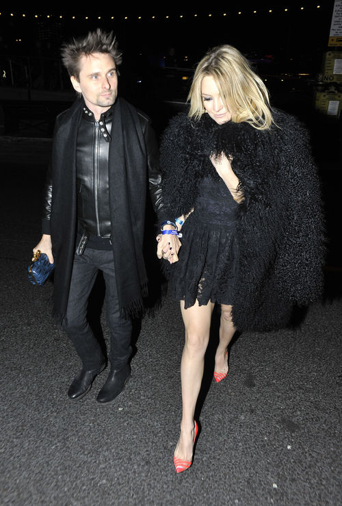 Kate Hudson erschien zur After-Party der Brit Awards im schwarzen Spitzen-Dress