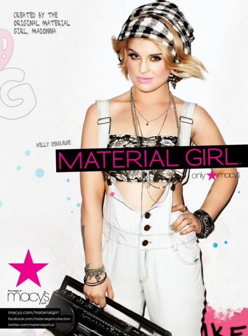Madonna ha confesado que le gusta el sentido único del estilo que tiene Kelly