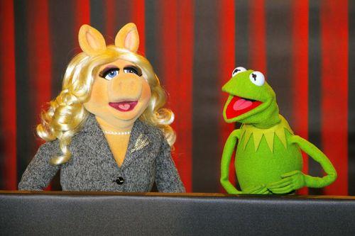Miss Piggy und Kermit der Frosch haben sich getrennt