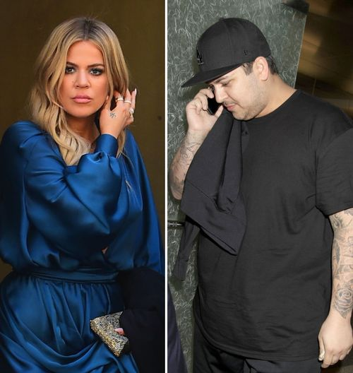 Khloe und Robert Kardashian sind verängstigt