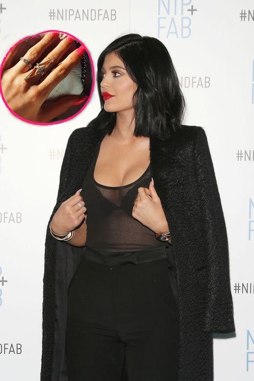 Kylie Jenner zeigte den Ring, über den gerade jeder redet, nun in Nahaufnahme