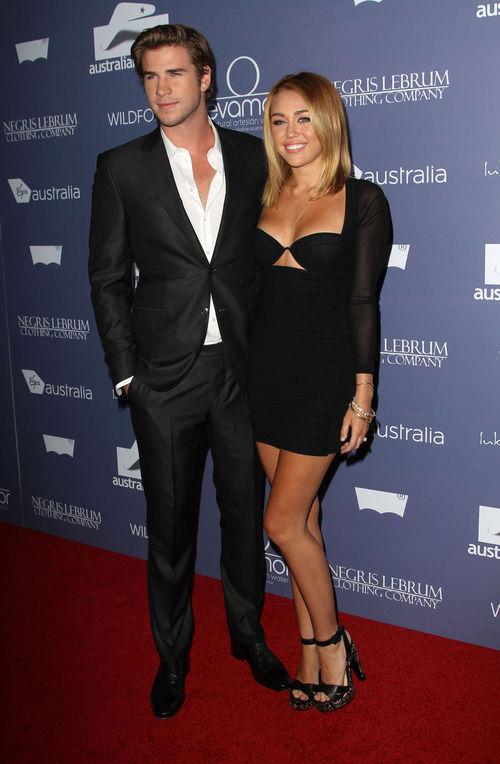"""Liam Hemsworth und Miley Cyrus lernten sich vor zweieinhalb Jahren am Set von """"Mit dir an meiner Seite"""" kennen"""