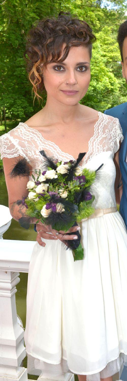 Linda Marlen Runge sieht toll aus als Braut