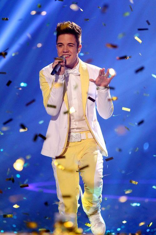 Luca Hänni ist Superstar 2012
