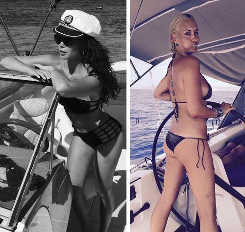 Mandy Capristo und Sarah Connor machen sich toll als Kapitäninnen