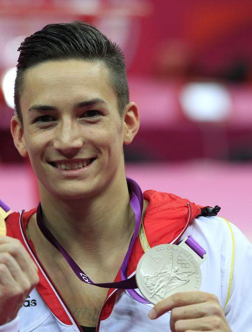 Marcel Nguyen holte sich noch eine Silbermedaille