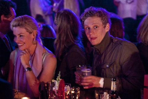 """Bei der """"Movie meets Media"""" wurde gut gelaunt gefeiert, Matthias Schweighöfer und Eva Habermann waren auch dabei"""