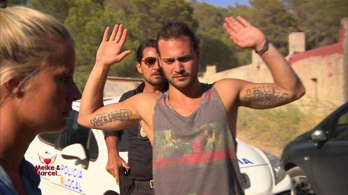 Marcel wird auf Ibiza verhaftet