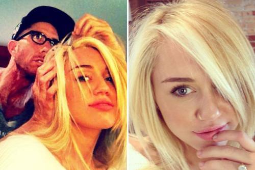 Miley hat wieder kürzere Haare