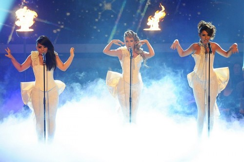 Monrose traten gestern beim Popstars-Finale auf