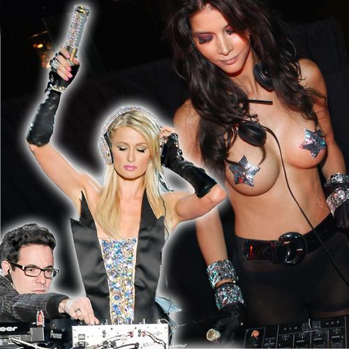 Paris Hilton und Micaela Schäfer haben beide DJ-Erfahrungen