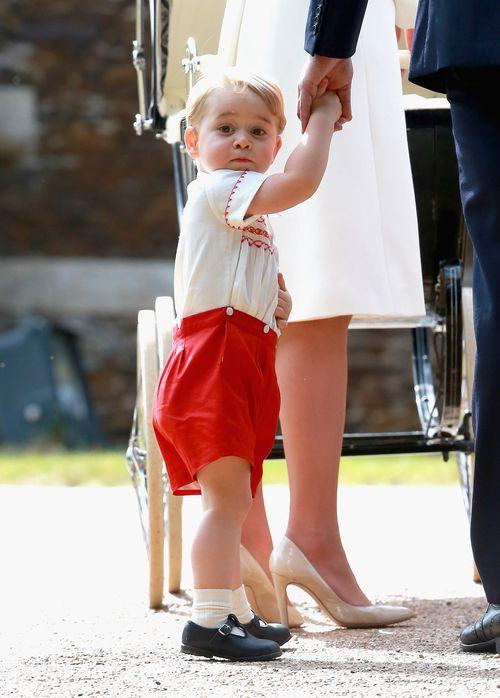 Prinz George hat heute wohl nicht so sehr Lust auf große Feste