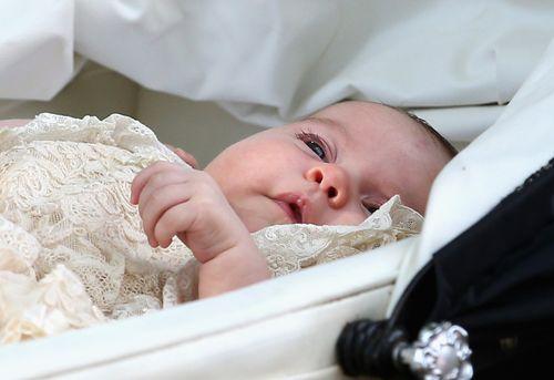 Prinzessin Charlotte wurde gestern getauft