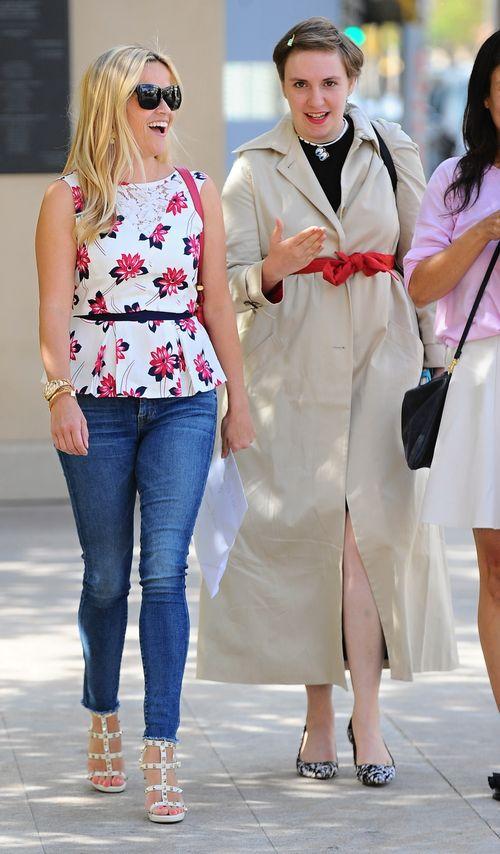 Treffen sich Reese Witherspoon  und Lena Dunham hier zum Business-Lunch?