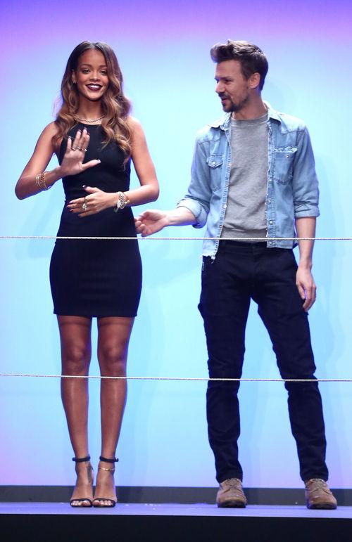 Rihanna präsentierte ihre erste eigene Kollektion