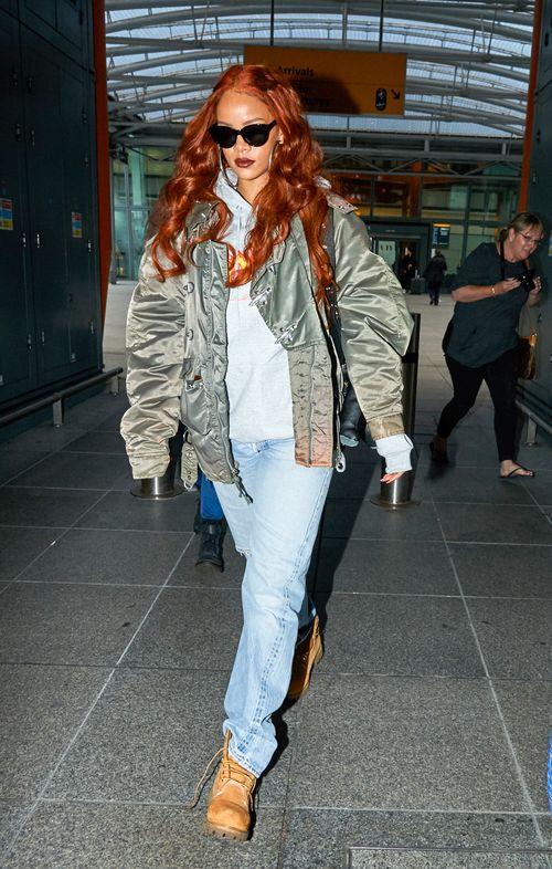 Rihanna zeigt sich aktuell ziemlich verhüllt