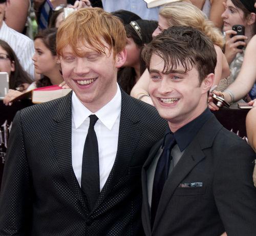 Rupert Grint und Daniel Radcliffe verstehen sich gut