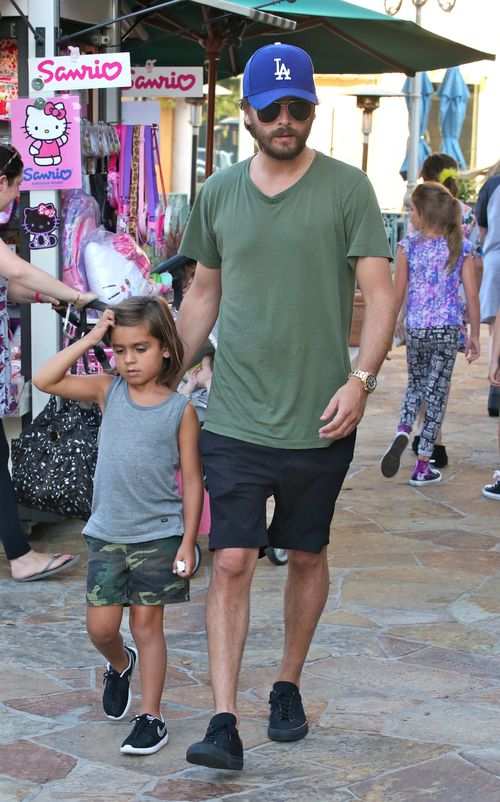 Scott Disick verbrachte Zeit mit seinem Sohn Mason