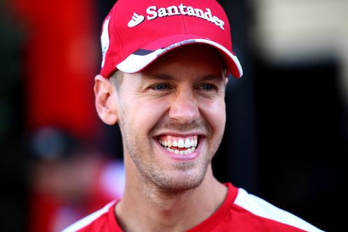 Sebastian Vettel hat Grund zur Freude
