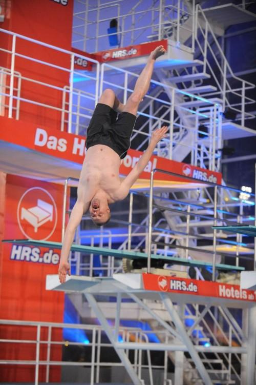 """Stefan Raab veranstaltete wieder ein """"TV total Turmspringen"""""""