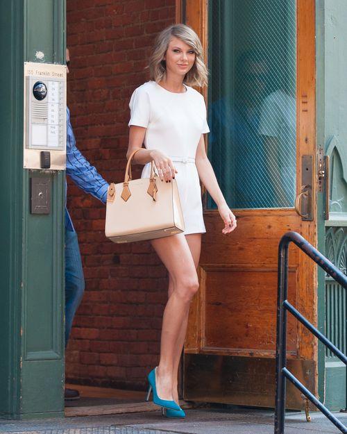 Taylor Swift ist bei bester Stimmung
