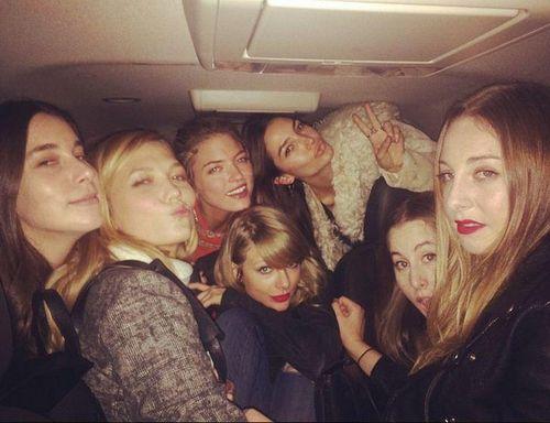Taylor Swift hat viele berühmte Freundinnen