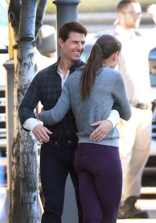 Tom und Katie scheinen noch immer frisch verliebt
