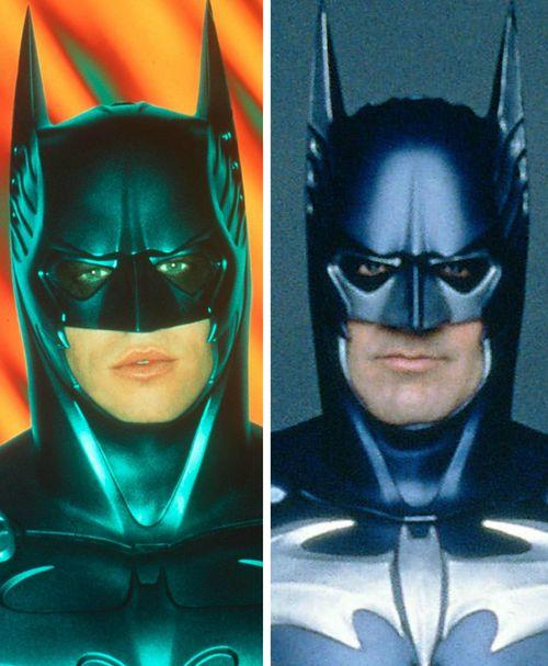 Val Kilmer und George Clooney spielten beide die Rolle des Batman