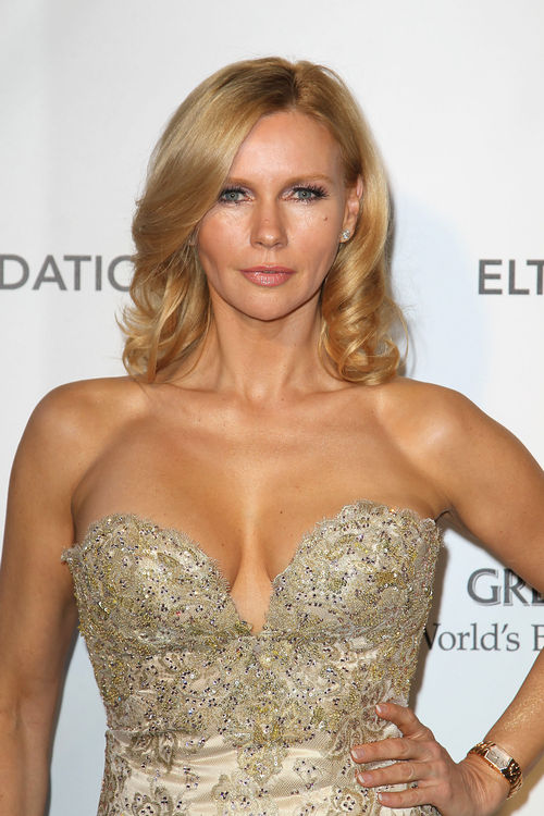 Veronica Ferres erschien ebenfalls auf Elton Johns Oscar Viewing Party