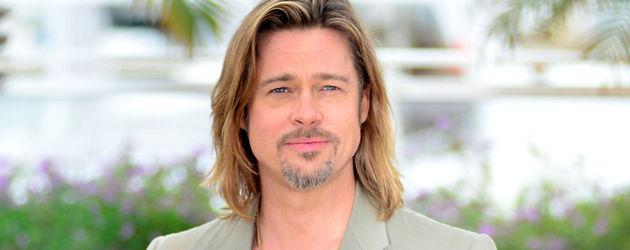 Brad Pitt beim Photocall in Cannes