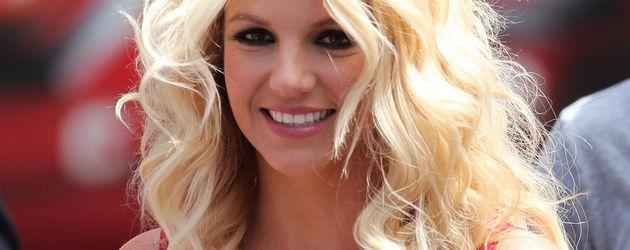 Britney Spears mit offenen Haaren