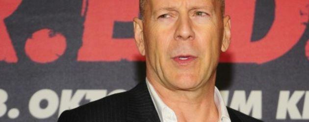 Bruce Willis macht Berlin unsicher