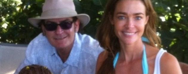 Charlie Sheen im Urlaub mit der Familie