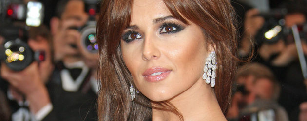 Cheryl Cole mit langer Mähne in Cannes