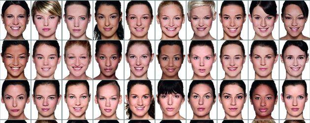 Die 50 Topmodel Kandidatinnen