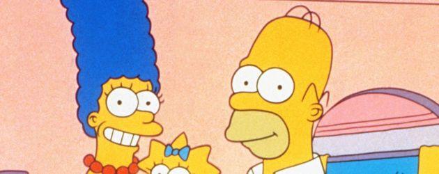 Die Simpsons in ihrem Haus
