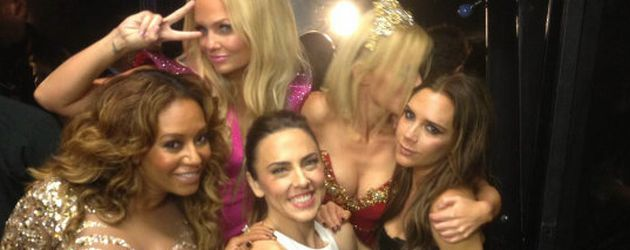 Die Spice Girls Backstage bei Olympia 2012
