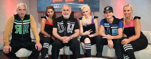 "Die ""Total Blackout""-Stars auf dem Sofa"