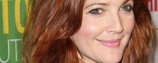 Drew Barrymore rote Haare