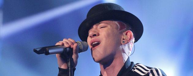 DSDS 2012: Daniele Negroni trägt einen Hut