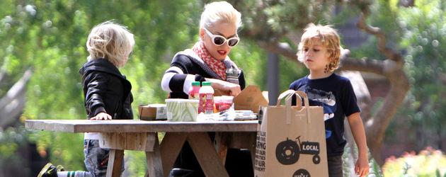 Gwen Stefani beim Picknick