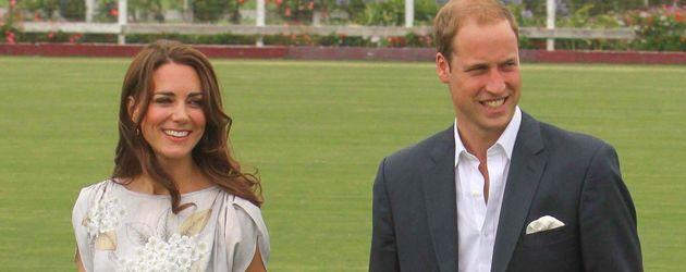 Herzogin Kate im luftigen Sommerkleid