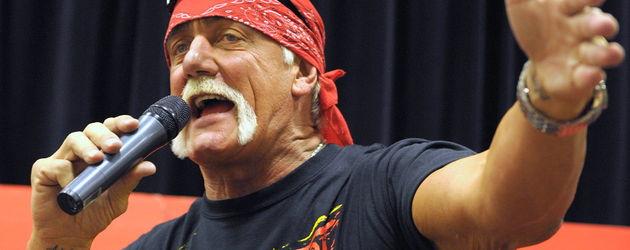 Hulk Hogan redet in Rage
