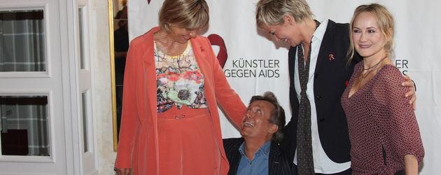 """Ikka Bause und die Künstler bei der """"Aids Gala"""""""