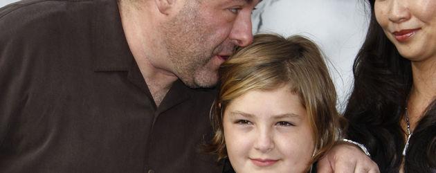 James Gandolfini mit Sohn Michael