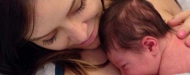 Jenny Mollen und ihr Baby Sid