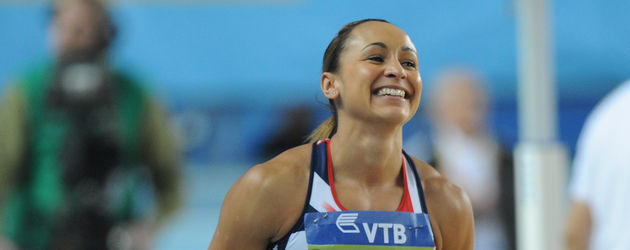 Jessica Ennis im Sport-Dress